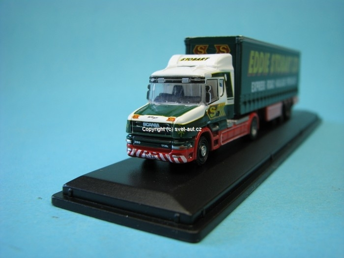 Scania T Cab Curtainside Stobart 1:148 Oxford