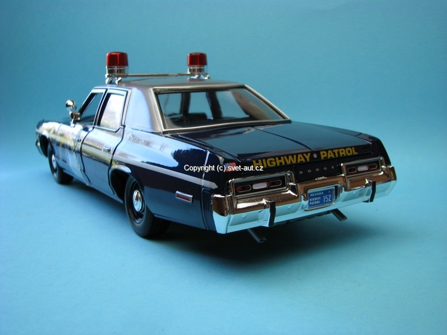 Dodge Monaco 1975 Nevada Highway Patrol 1:18 Ertl