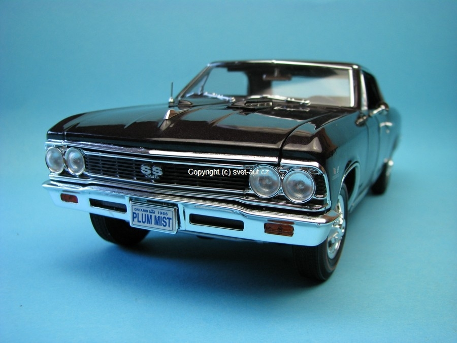 Chevrolet Chevelle SS 396 1966 purple 1:18 Ertl