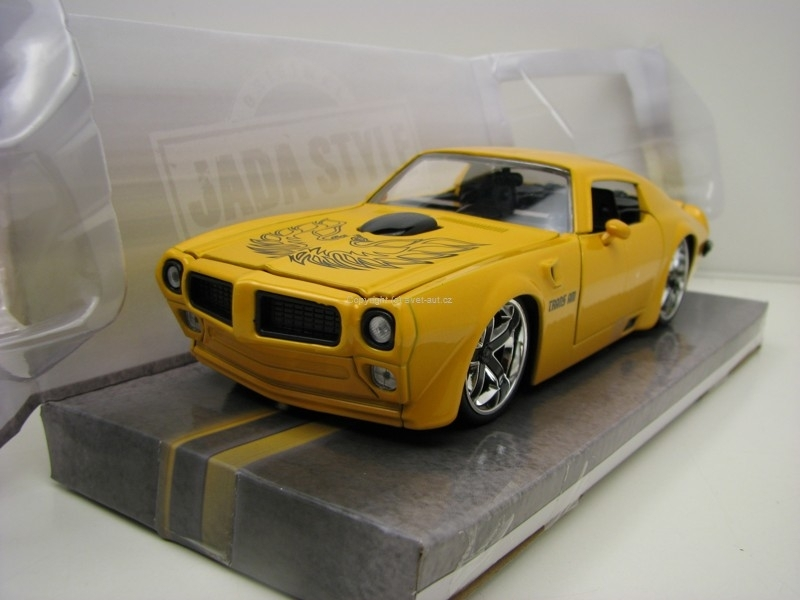 Pontiac Firebird Trans Am 1972 Yellow 1:24 Jada Toys
