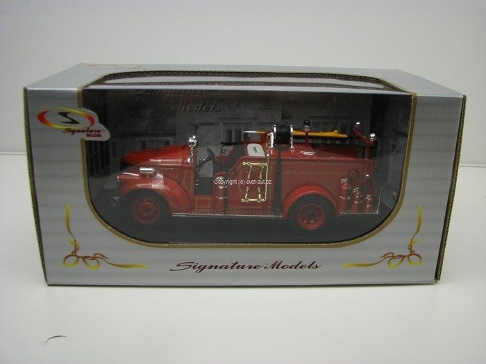 GMC Fire Truck 1941 Detroit 1:32 Signature Models