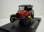 Ford Model T Touring Closed Fire Chief 1925 1:24 Sunstar