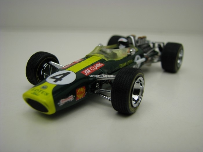 Lotus 49 F1 No.4 Jim Clark GP South Africa 1968 1:43 Quartzo