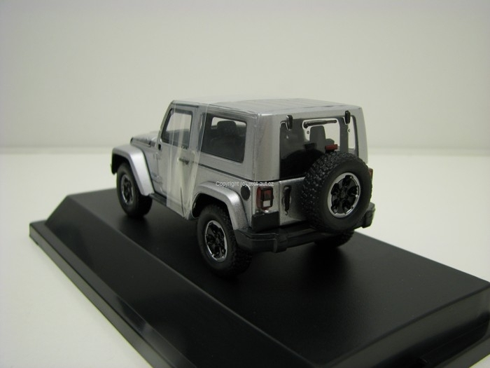 Jeep Wrangler Polar Silver 1:43 Greenlight