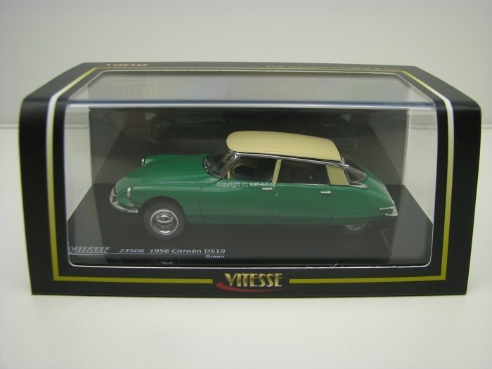 Citroen DS19 1956 Green 1:43 Vitesse
