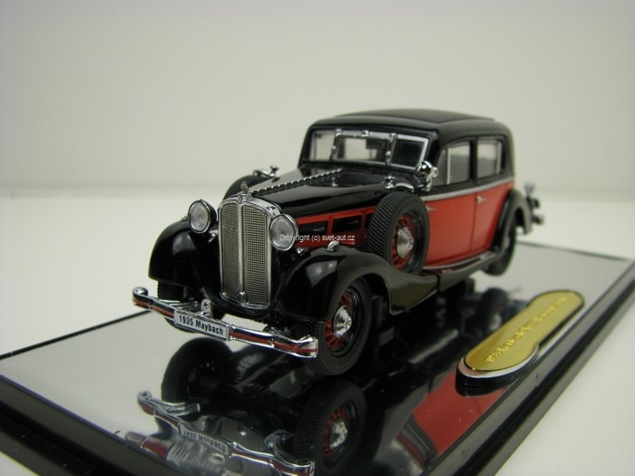 Maybach SW35 Hardtop 1937 Red/Black 1:43 Signature Models
