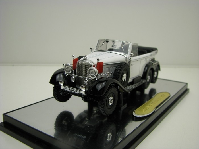 Mercedes-Benz G4 1938 White 1:43 Signature Models