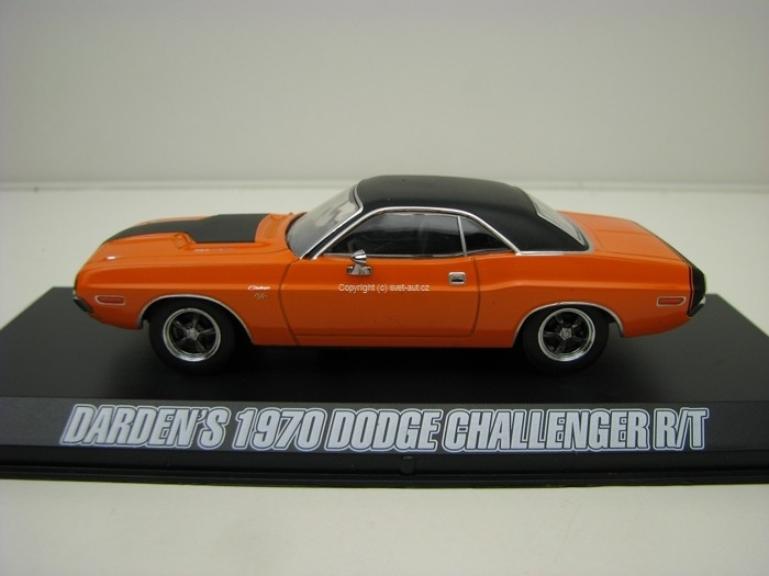Dodge Challenger R/T Darden\'s 1970 1:43 Greenlight