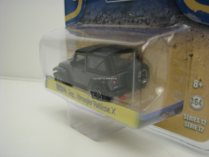 Jeep Wrangler Rubicon X 2014 Country Roads 1:64 Greenlight