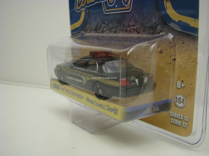 Ford Police Iterceptor 2009 Country Roads 1:64 Greenlight