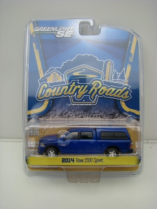 Dodge Ram 1500 Sport 2014 Country Roads 1:64 Greenlight