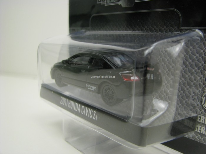 Honda Civic Si 2011 Black Bandit 1:64 Greenlight
