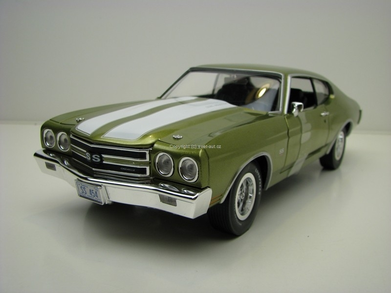 Chevrolet Chevelle SS 454 1970 American Muscle 1:18 Ertl - Auto World