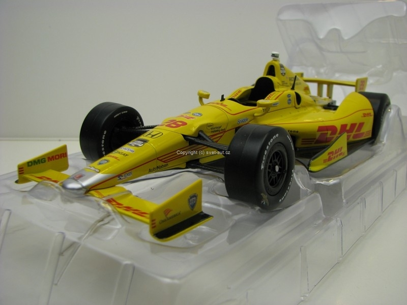 Dallara DW12 No.28 Ryan Hunter-Reay 2014 Indianopolis 500 Champion 1:18 Greenlight