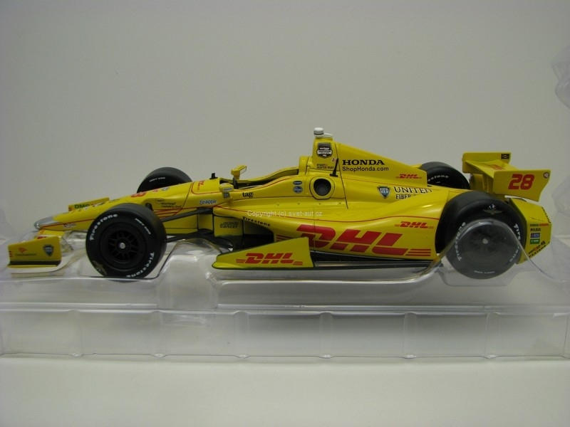 Dallara DW12 No.28 Ryan Hunter-Reay 2014 Indianopolis 500 Champi