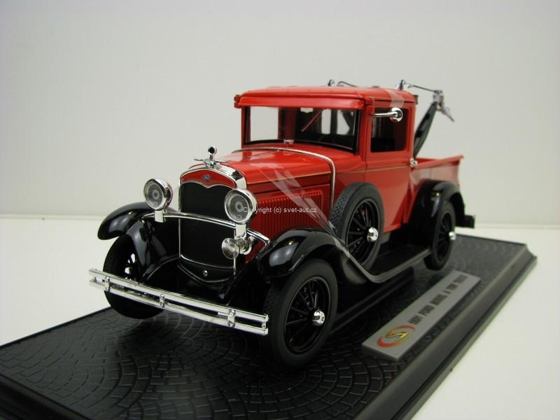 Ford model A 1931 Tow Truck 1:18 Signature Models