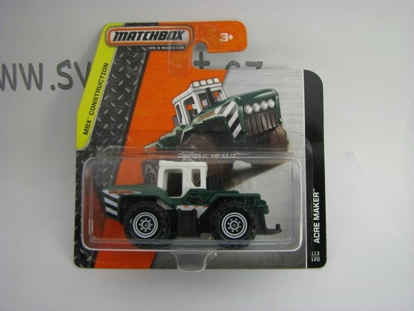 Matchbox - 2014 MBX Construction 113/120 - Acre Maker