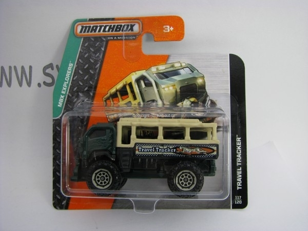 Matchbox - 2014 MBX Explorers 117/120 - Travel Tracker