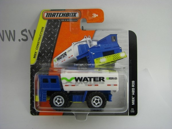 Matchbox - 2014 MBX Construction 15/120 - MBX H2O Rig