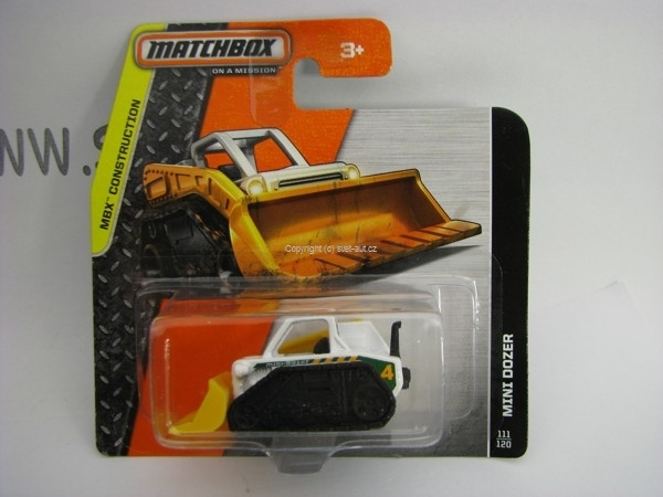 Matchbox - 2014 MBX Construction 111/120 - Mini Dozer