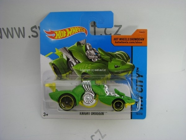 Hot Wheels 2014 Knight Draggin HW CITY 5785 70/250