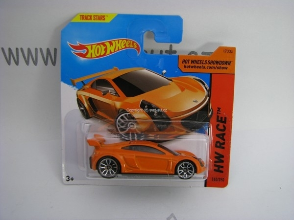 Hot Wheels 2014 Mastretta MXR HW RACE 5785 160/250