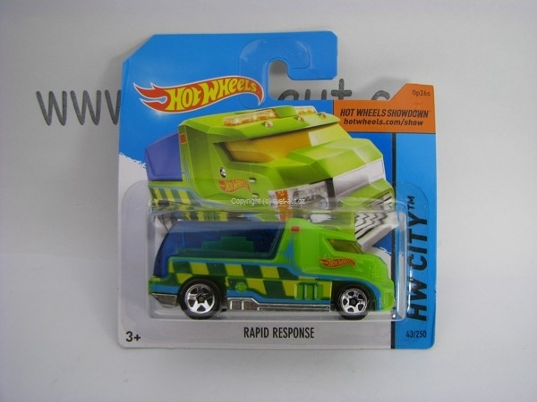 Hot Wheels 2014 Rapid Response HW CITY 5785 43/250
