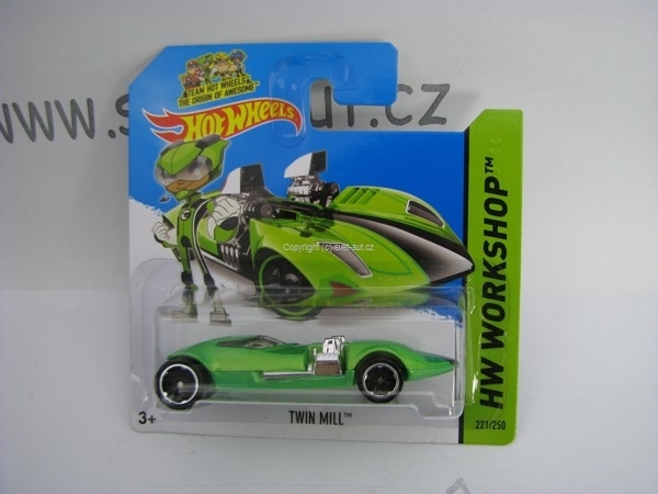 Hot Wheels 2014 Twin Mill HW Workshop 5785 221/250