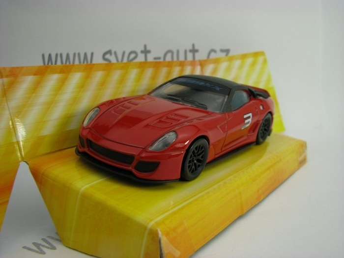 Ferrari 599XX No.3 1:43 Hot Wheels