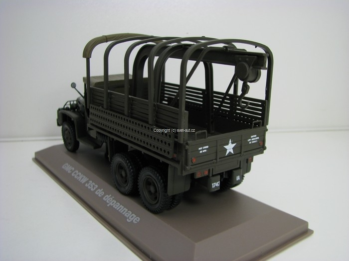 GMC CCKW USA 353 1:43 Atlas