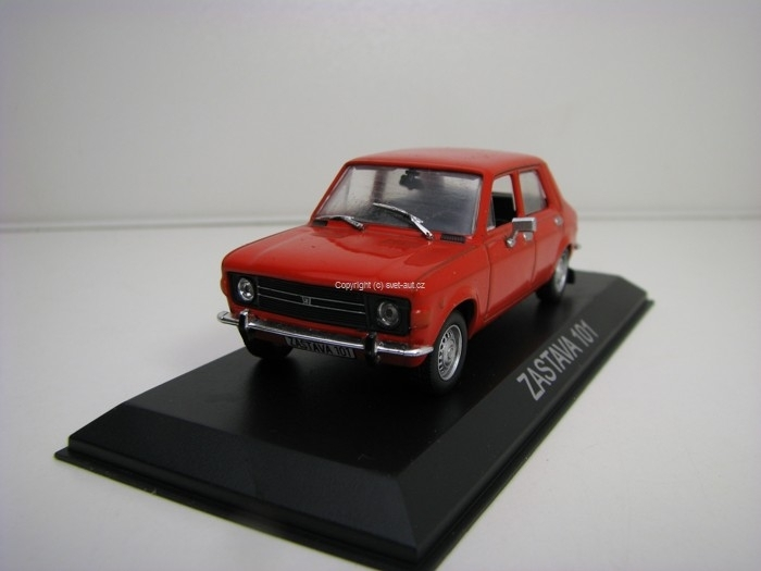 Zastava 101 Red 1:43 Atlas