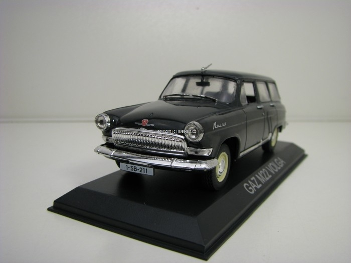 Volha Gaz M22 Grey 1:43 Atlas