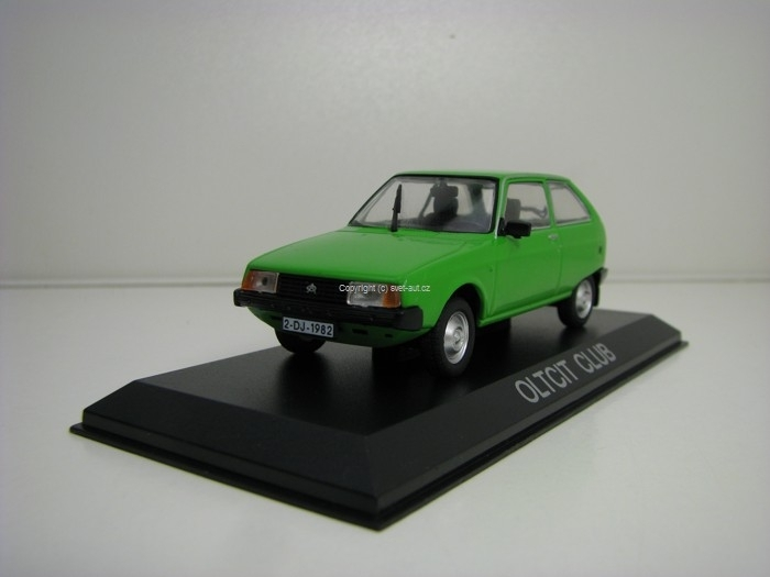 Oltcit Club Green 1:43 Atlas
