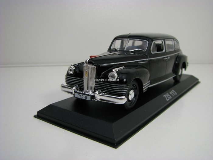 Zis 110 Black 1:43 Atlas