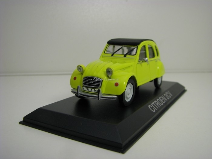 Citroen 2CV Yellow 1:43 Atlas