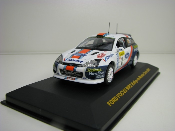 Ford Focus WRC Rallye MC 2001 No.3 Sainz 1:43 Ixo