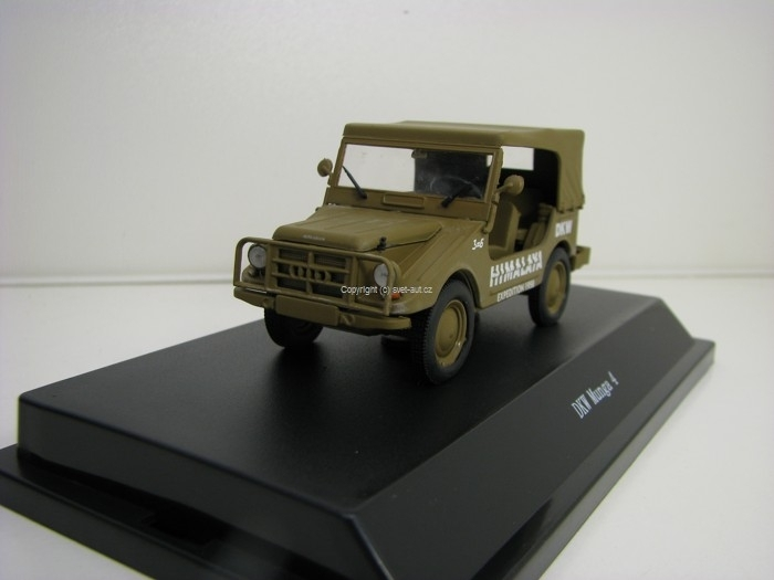 DKW Munga 4 Himalaya Expedition 1958 1:43 Starline