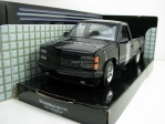 Chevrolet 454 SS Pick Up 1992 Black 1:24 Motor max