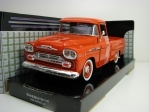 Chevrolet Apache Fleetside Pick Up  1958 Red 1:24 Motor Max
