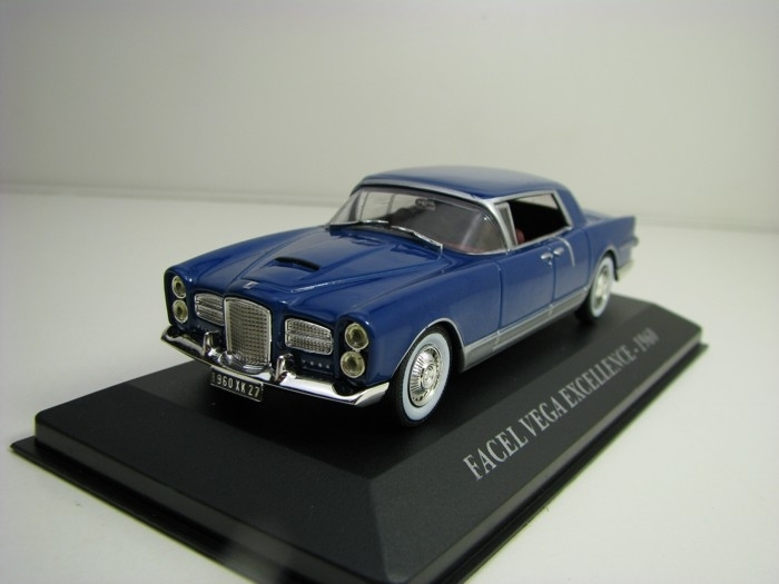 Facel Vega Excellence 1960 Blue 1:43 Atlas