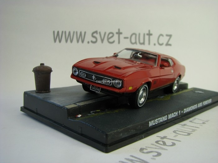 Mustang Mach 1 Bond 007 1:43 Universal Hobbies