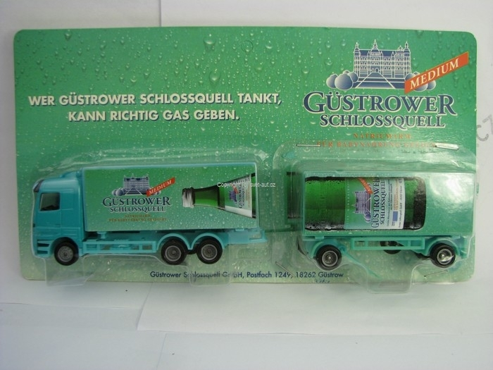 Mercedes-Benz Actros reklamní kamion Gustrower 1:87 Grell 314-51512
