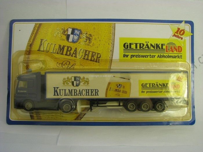 Mercedes-Benz Actros Kulmbacher 1:87 Grell 314-51523