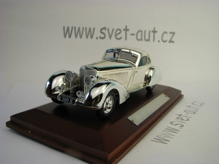 Mercedes-Benz 500 K chrom 1:43 Atlas