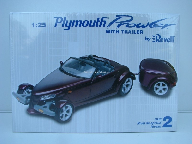Plymouth Prowler with trailer stavebnice 1:25 Revell
