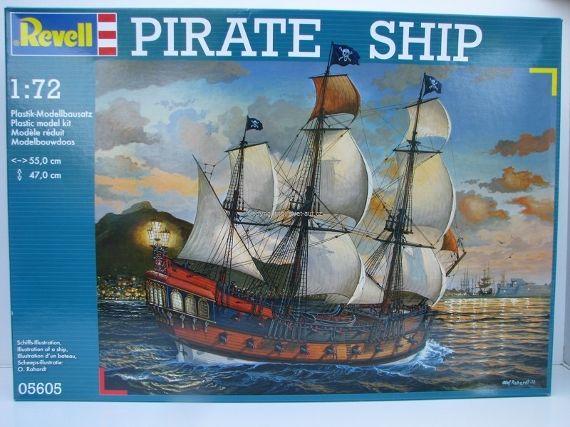 Pirate Ship 1:72 stavebnice Revell