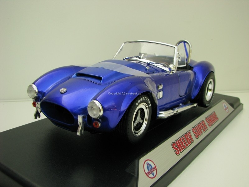 Shelby Cobra 427 Super Snake 1:18 Shelby Collectibles