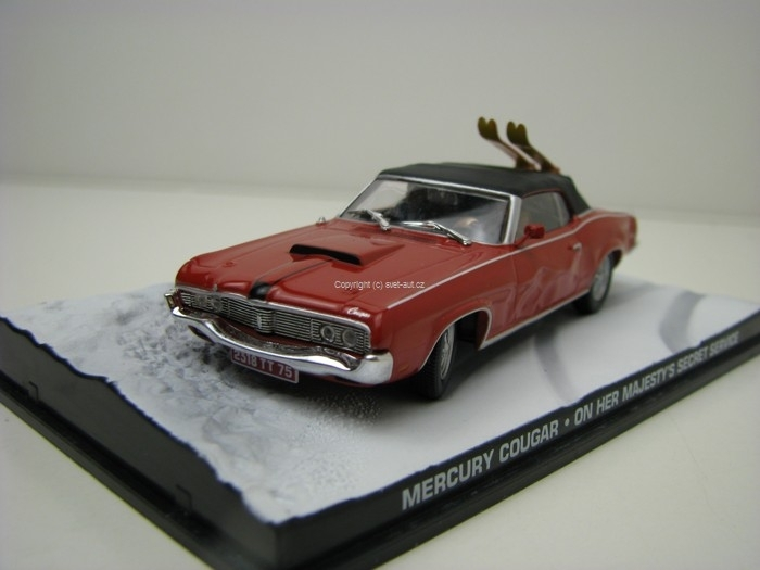 Mercury Cougar James Bond 007 1:43 Universal Hobbies