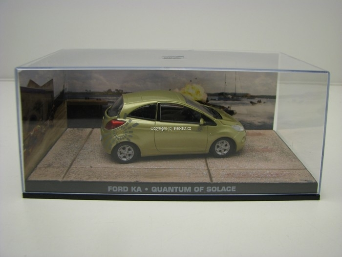 Ford Ka Quantum Of Solage James Bond 007 1:43 Universal Hobbies