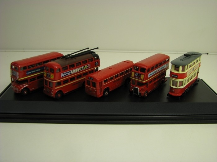 Bus Set London transport 5 ks 1:148 Oxford